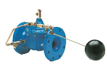 通过浮球装置控制
